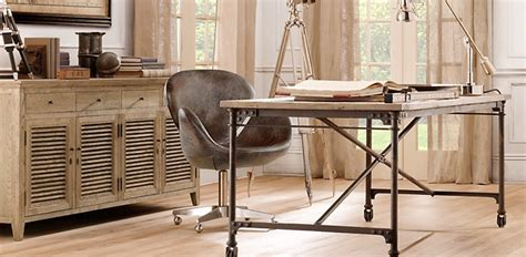 Restoration Hardware Home Office by Introducing Maison Collection