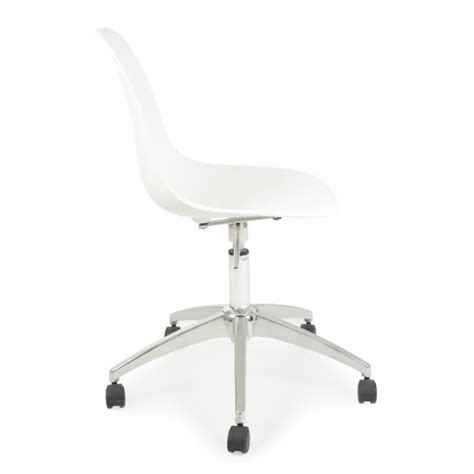 Plastic Office Chair by Eames Style Plastic White Office Chair Cult Uk