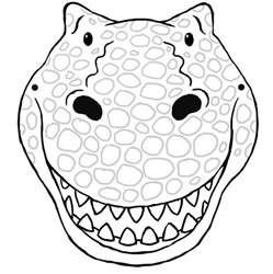 dinosaur mask template free how to grow a dinosaur activities