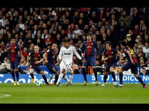 real madrid vs barcelona 1 1 all goals [2013/01/30] full