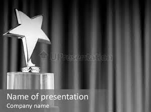 award powerpoint template honor medallion award powerpoint template id 0000006934