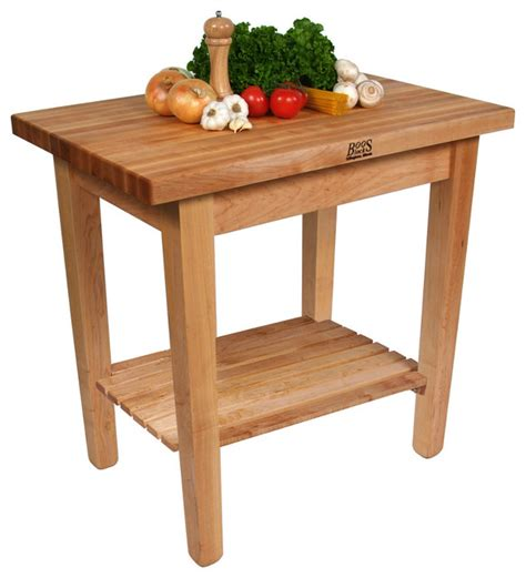 kitchen carts kitchen islands work tables and butcher john boos quot c quot country work table with maple butcher block