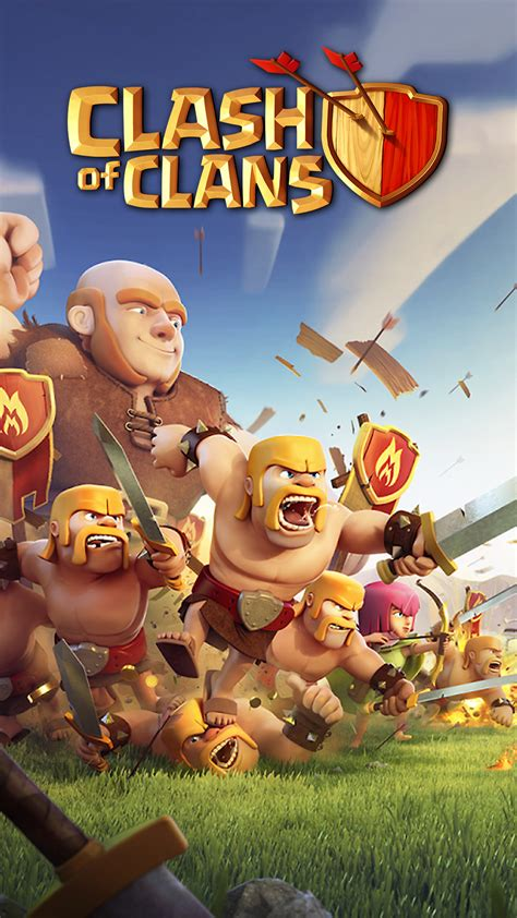 wallpaper hd android clash of clans smartphone clash of clans wallpaper full hd pictures