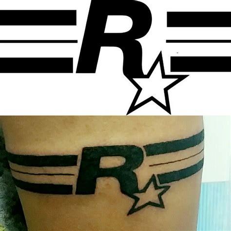 rockstar tattoo designs rockstar logo gta band with