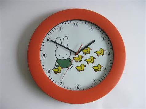 vintage miffy clock timepiece dick bruna