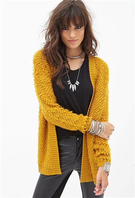 mustard colored cardigan mustard yellow cardigan forever 21 zip sweater