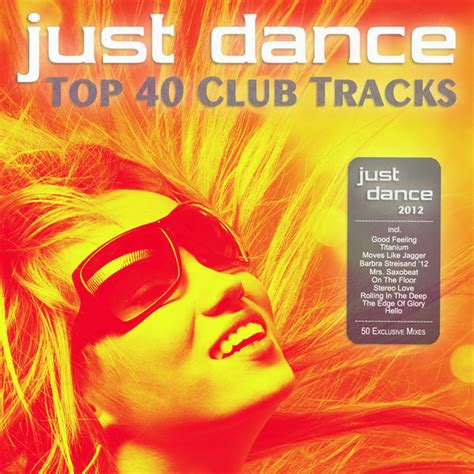uk top 40 house music just dance 2012 top 40 club electro house hits album cover by various artists