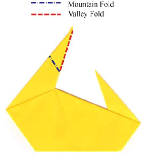 How To Fold A Paper Duck - how to make a traditional origami duck page 6