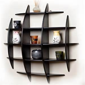 Decorative Wall Bookshelves by Decorative Modern Wall Shelves Recycled Things Image