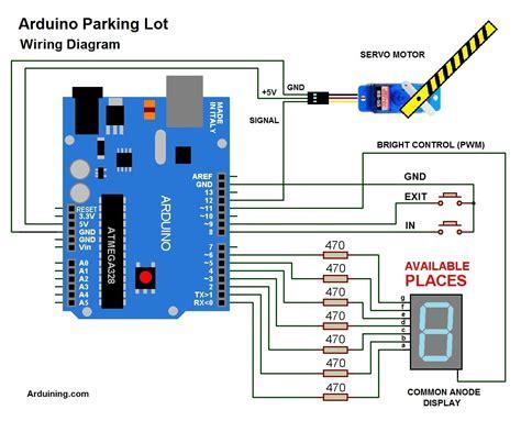 arduino parking lot filled arduining
