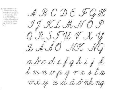 Letter Writing Sle Foreign Alphabet But Still Helpful Lettering Fancy Writing Writing