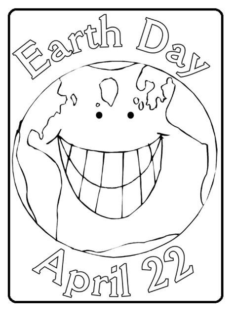 earth day coloring pages preschool free printable earth day coloring page for kindergarten 22
