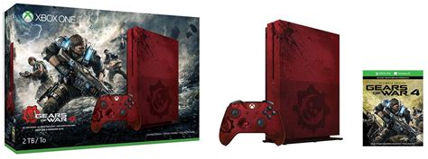 Xbox One S Gears Of War Edition xbox one s gears of war 4 2tb limited edition bundle coming sooner than expected on september 6