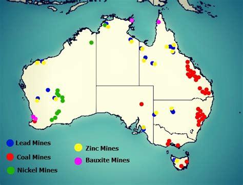 australia resource map travel australia with mkn