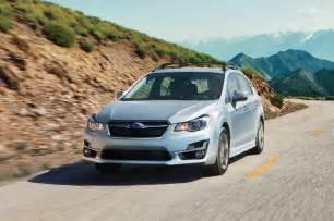 Subaru Wrx Hatchback 2015 2015 Subaru Impreza Hatchback Front Three Quarters In