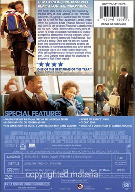 amazon the pursuit of happyness widescreen edition pursuit of happyness the widescreen dvd 2006 dvd empire