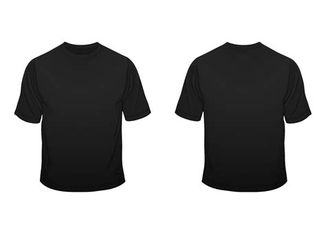Plain Black Shirt Template black t shirt layout is shirt