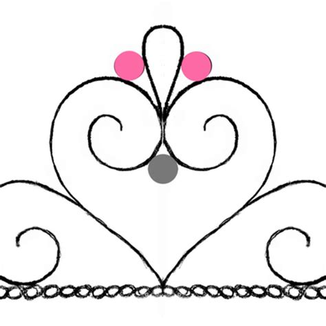 tiara template for cake princess crown template for cupcakes