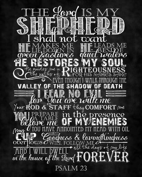 25 best ideas about psalm 23 on pinterest psalm sunday