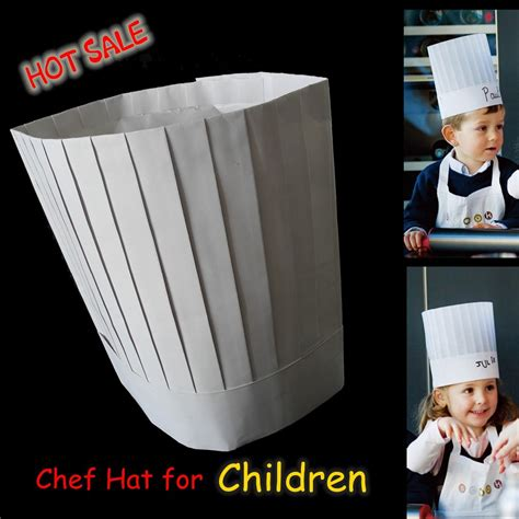 How To Make A Chef Hat Out Of Construction Paper - 100pcs lot 2015 promotion 23cm 9 quot 10 quot disposable