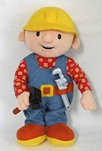 "amazon.com: 13"" talking bob the builder plush: toys & games"