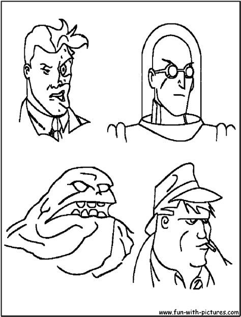 batman enemies coloring pages mr freeze batmans enemy coloring pages az coloring pages