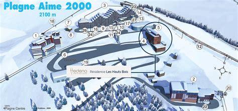 Location Résidence Hedena les Hauts Bois****, Location vacances Plagne Aime 2000