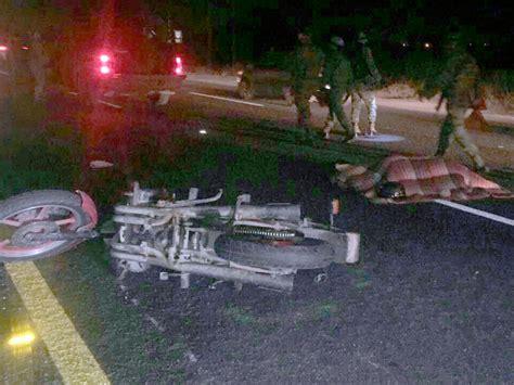 refrendo 2017 en silaogto para motos un muerto y un lesionado en accidente sobre la silao le 243 n