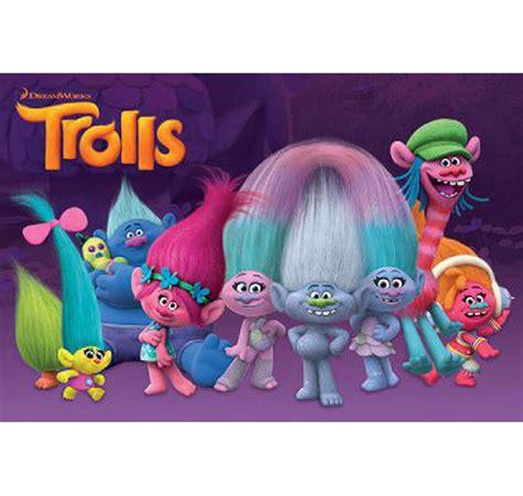 les trolls poster les trolls personnages en vente sur close up