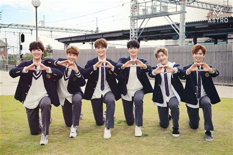 astro new year song 2011 astro members are your ultimate high school crushes in new
