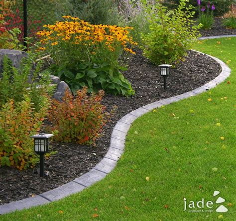 bed edging nicely defined flower bed i love the brick edging garden for cornhole pinterest