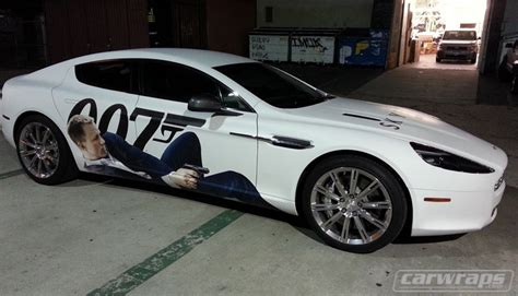 How Would You Like To Wrap A Martin Margiela Bow Around Your Ring Finger by Aston Martin 007 Car Wrap Carwraps