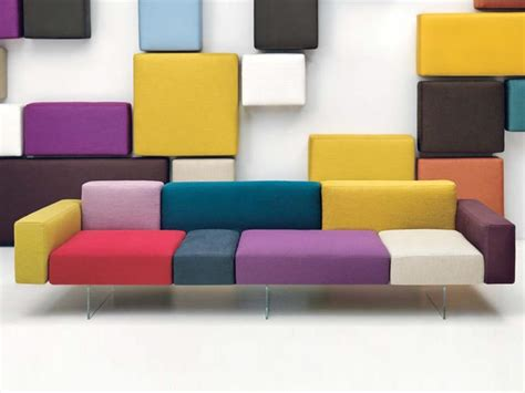 furniture modular sectional with cool style and color modular sofa air by lago design daniele lago colour