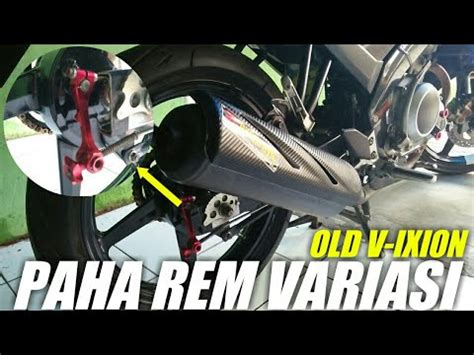 Lu Belakang Stop Vario 125 mengganti paha rem tromol di motor vixion makassar