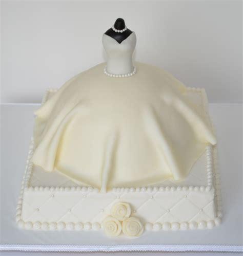bridal shower cake wedding dress bridal shower dress cake