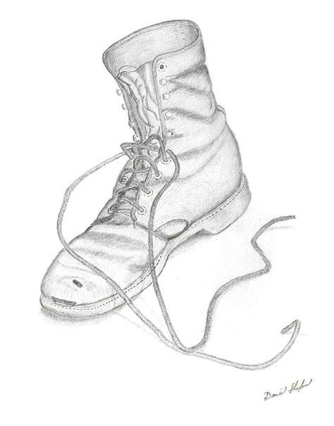 dans boot drawing by daniel shuford