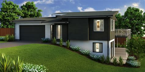 contemporary split level house plans split level house plans new zealand escortsea