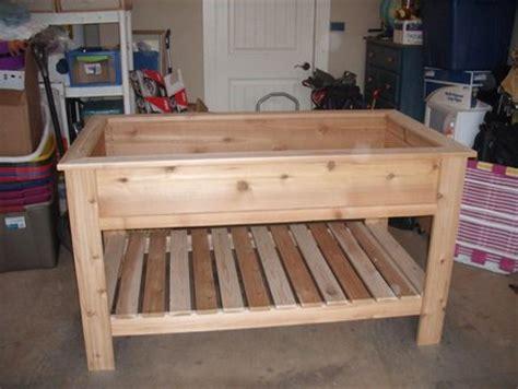 cedar raised garden box  jbergh  lumberjockscom