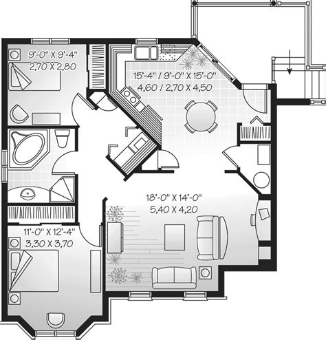 family home plan geary place triplex townhouse plan 032d 0383 house plans and more