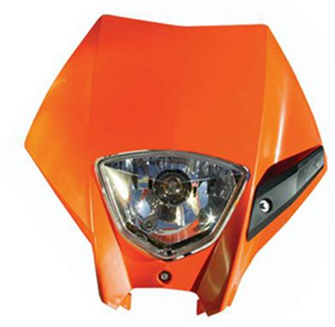 Ktm Led Headlight Conversion Aomc Mx Ktm Headlight Kit 05 07 Orange