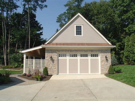 detached garages plans another version of a detached garage with porch to the