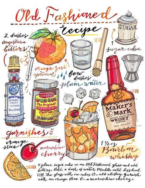 fashioned cocktail illustration top 25 best fashioned kitchen ideas on