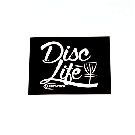 Disc Golf Stickers