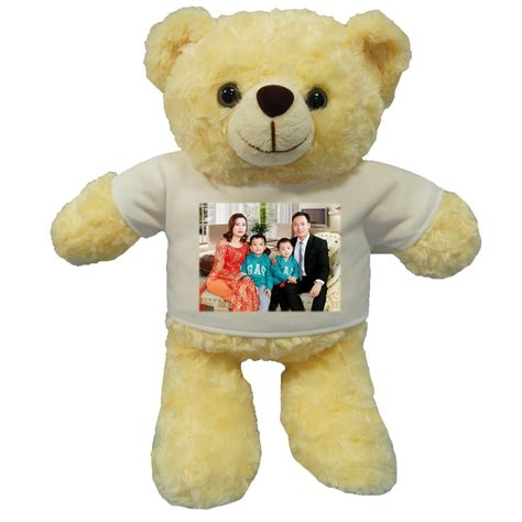 personalised photo teddy bear gifts gift ftempo