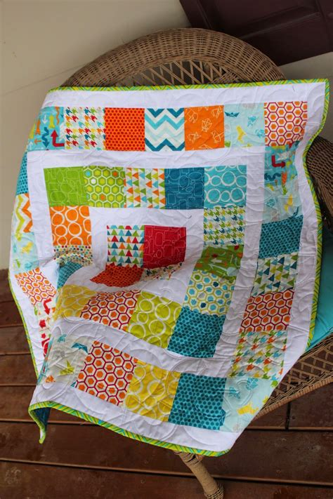 Quilts Made With Charm Packs by Around The World Baby Quilt Made With Charm Packs Jelly