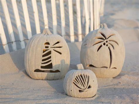 coastal pumpkin ideas sand  sisal