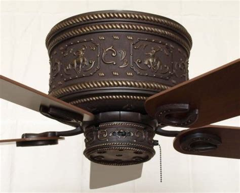 western style ceiling fans copper canyon cheyenne ceiling hugger fan rustic