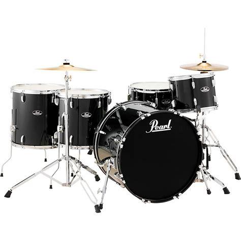 Pearl Roadshow Drum Set 4pcs pearl roadshow 5 rock drum set jet black musician s friend
