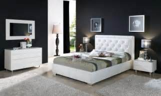 white contemporary bedroom furniture high quality