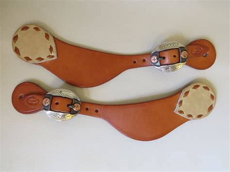 Handmade Spur Straps - 8944 new handmade bobby burns spur straps david hunt buckles